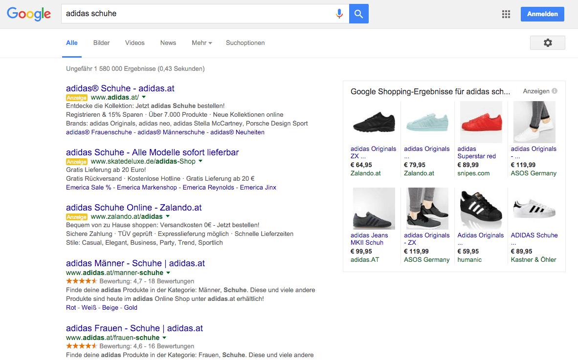 Google entfernt die rechte AdWords Spalte   Thirdman
